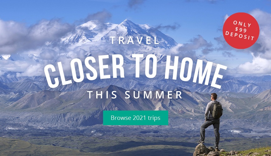 Travel closer to home this summer
