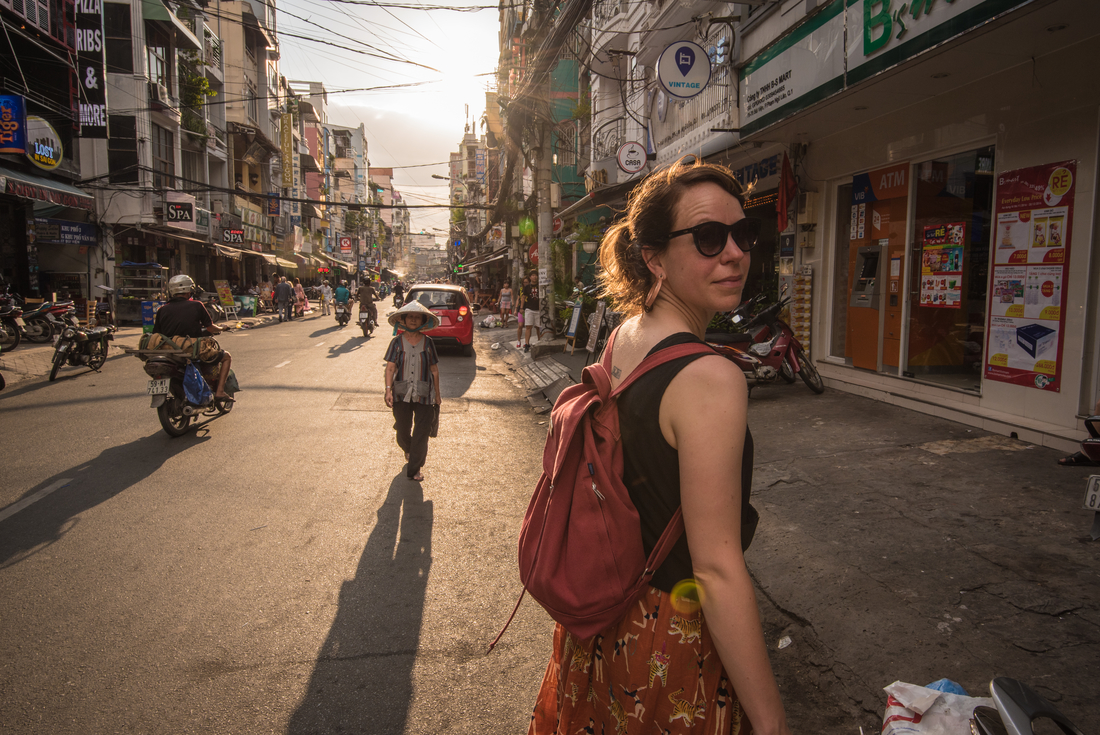 Light, breathable clothing is recommended in Vietnam