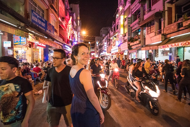 Ho Chi Minh City is warm and humid year round.