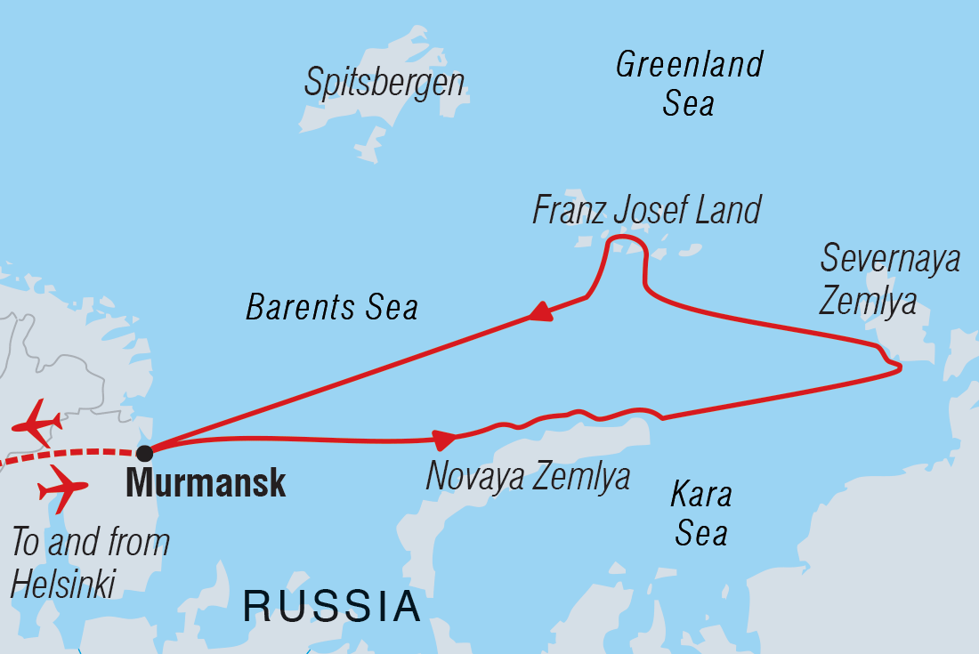 Russian High Arctic Odyssey | Intrepid Travel on nasa russia, oceans and seas that surround russia, bulgaria russia, sakhalin island russia, sea that borders northwestern russia, toxic waste dumps sochi russia, exxonmobil russia, it and the oceans that border russia, kfc russia,