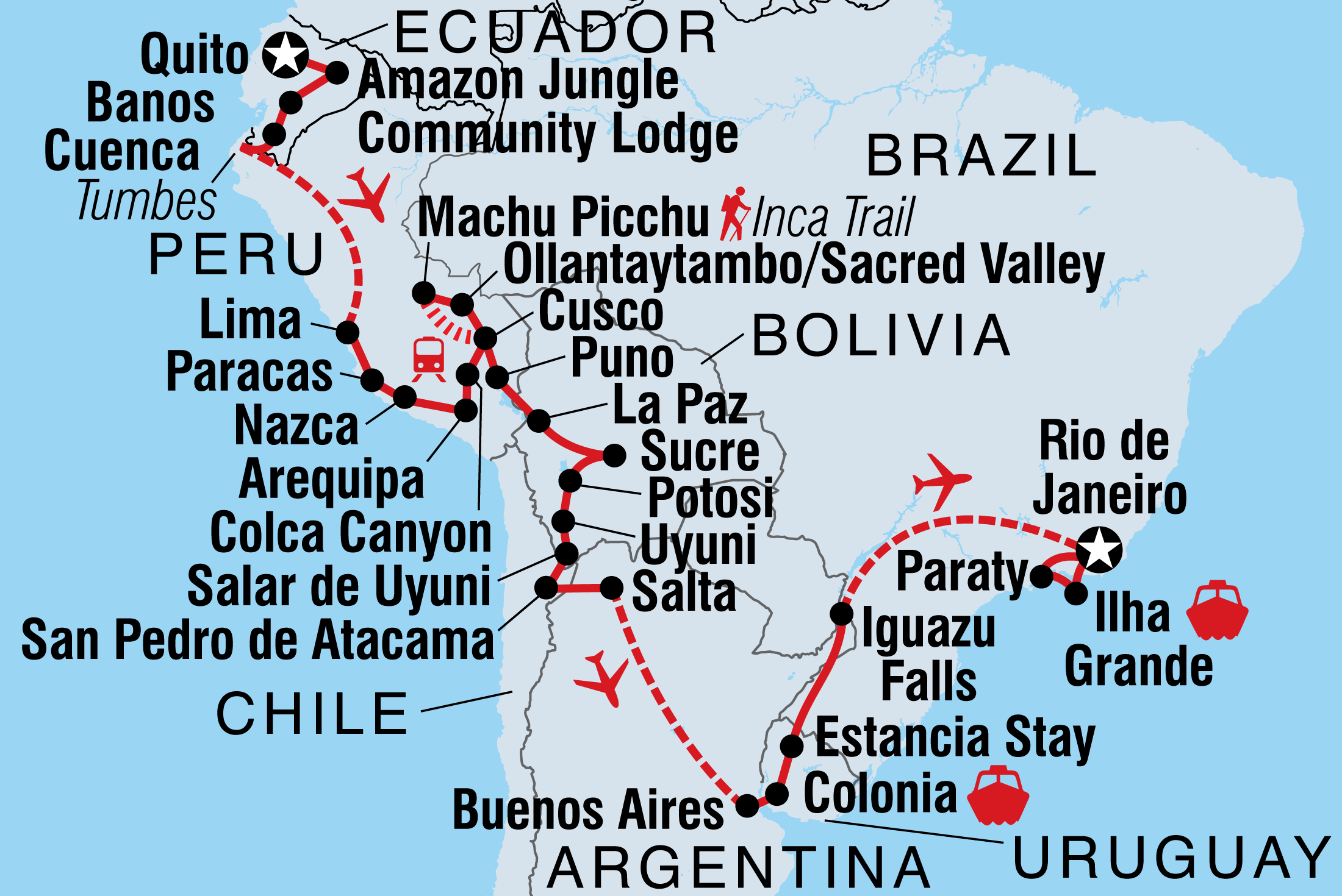 Grand South America | Intrepid Travel