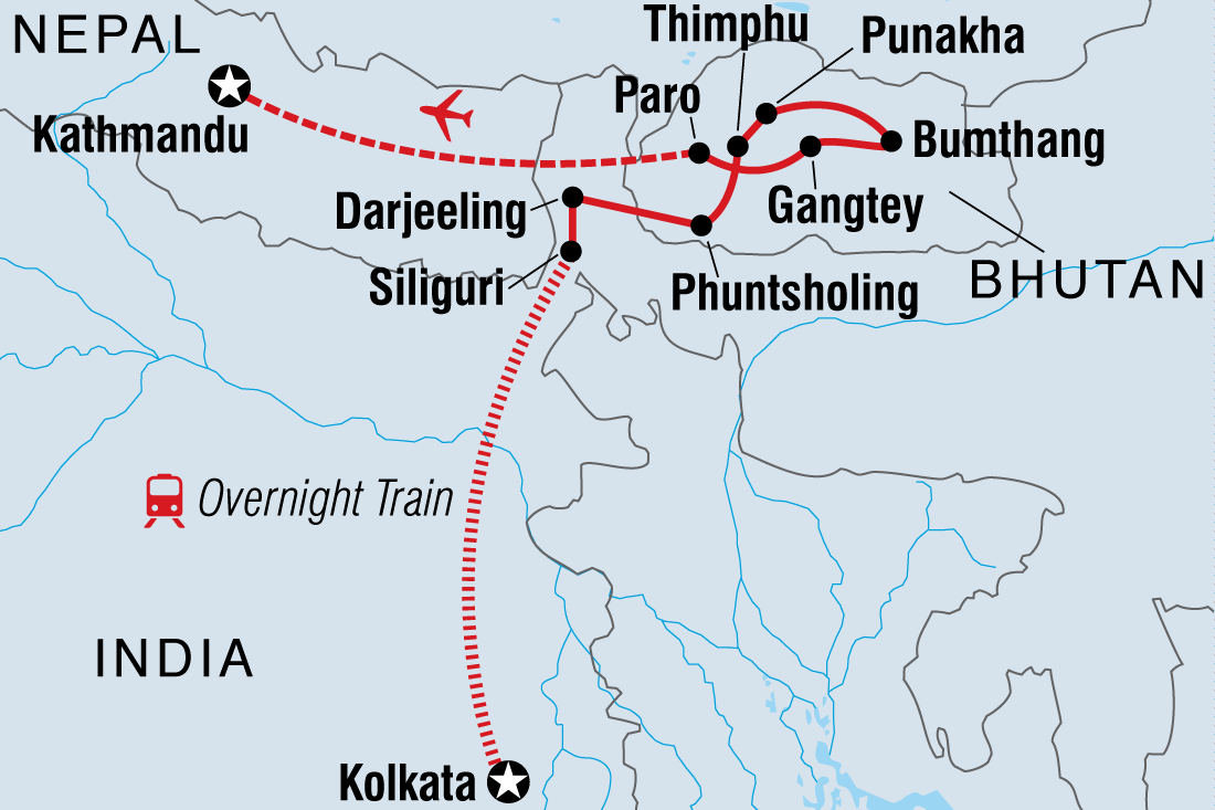 Kolkata to kathmandu via bhutan overland intrepid travel gb gumiabroncs Images