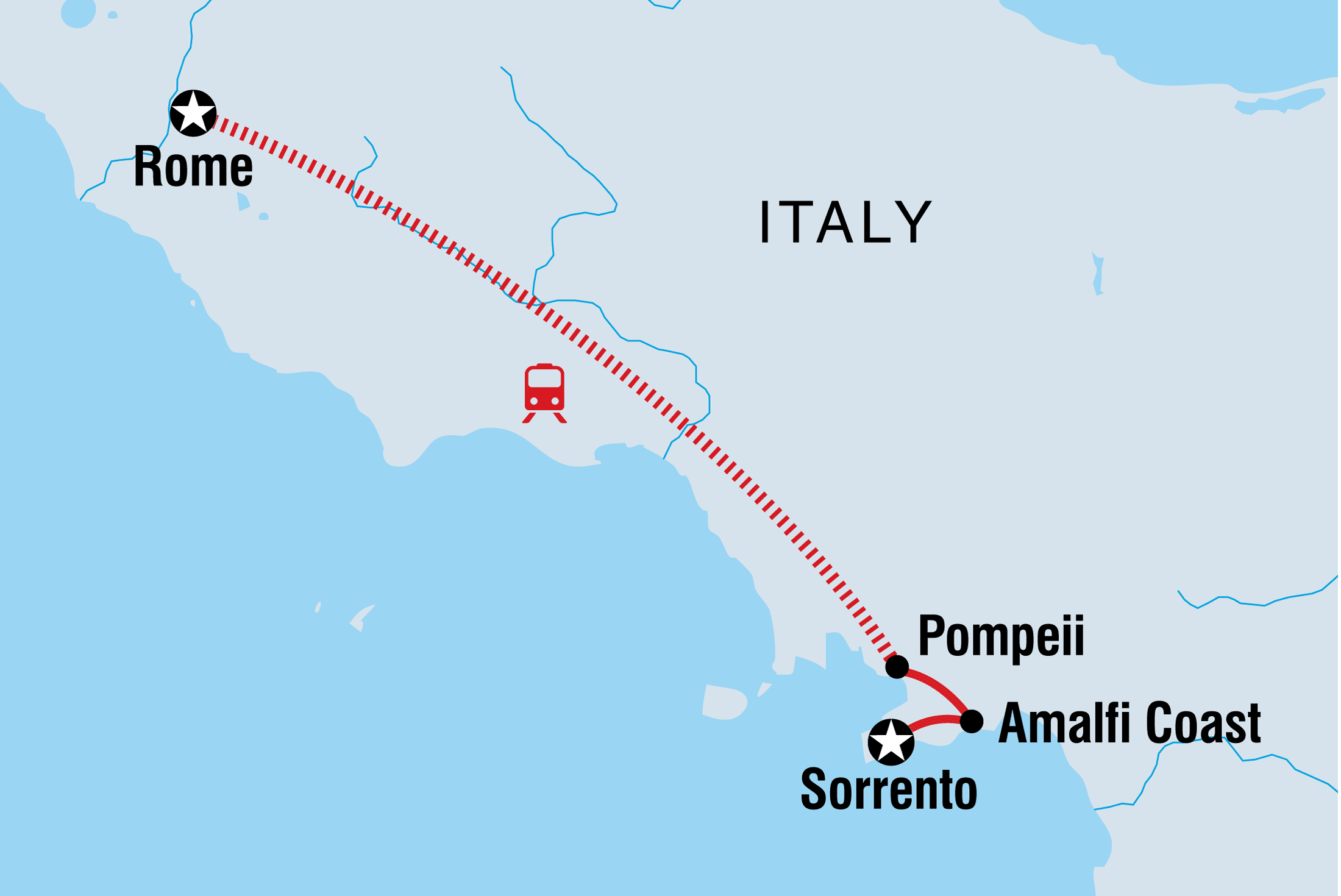 Where Is Pompeii On A Map Of Italy.Italy Family Holiday Intrepid Travel
