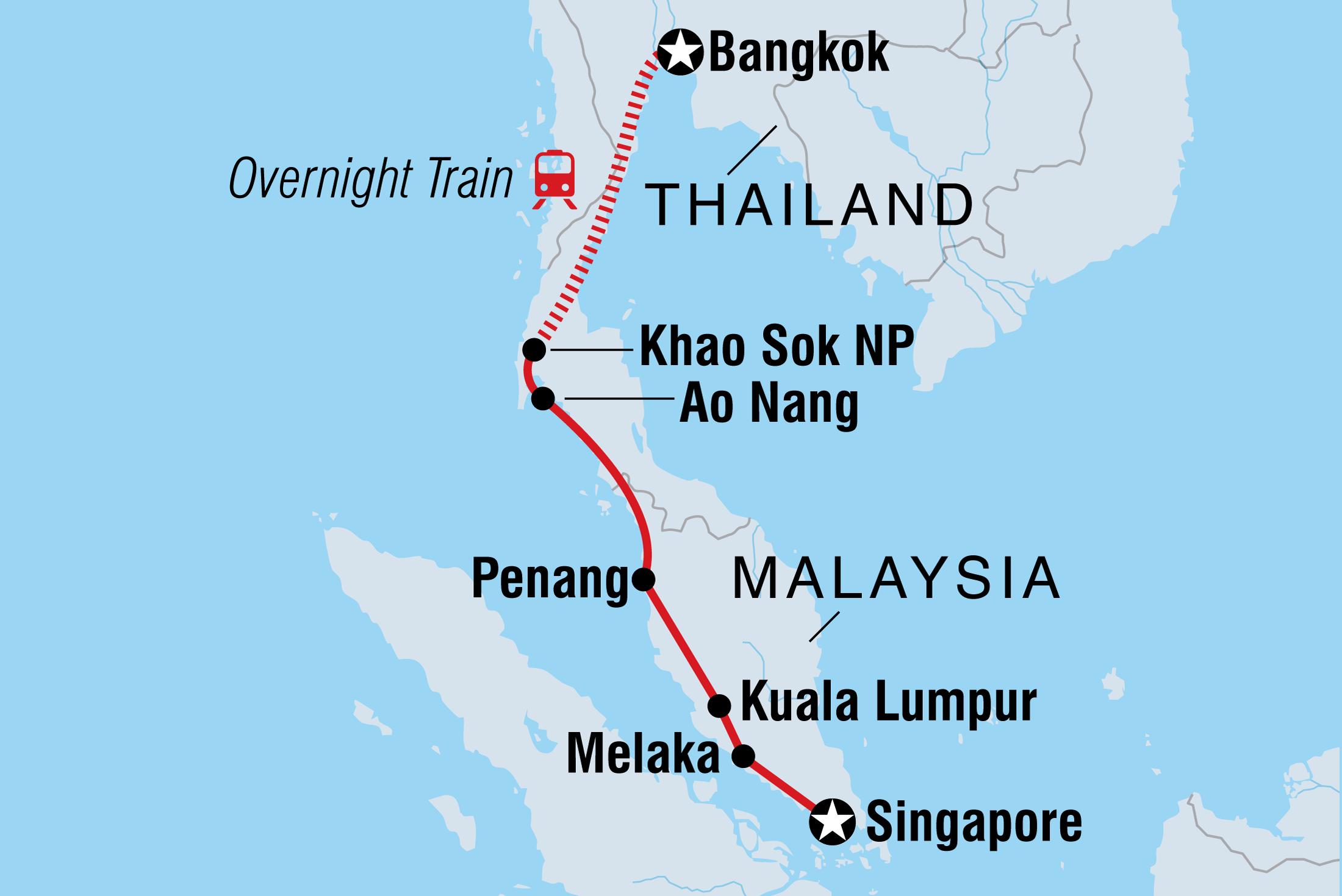 Bangkok to Singapore | Intrepid Travel