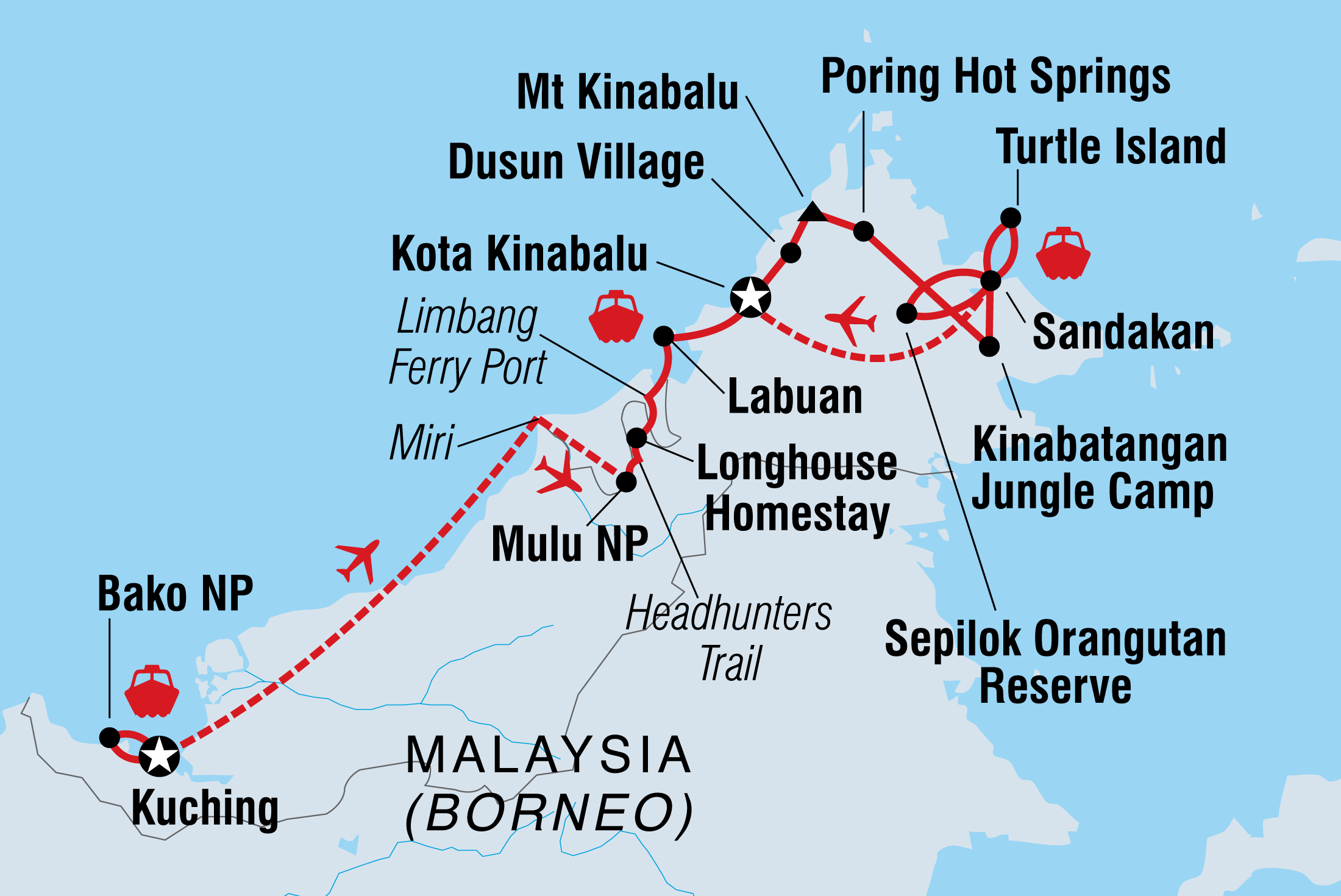 Best Of Borneo Intrepid Travel
