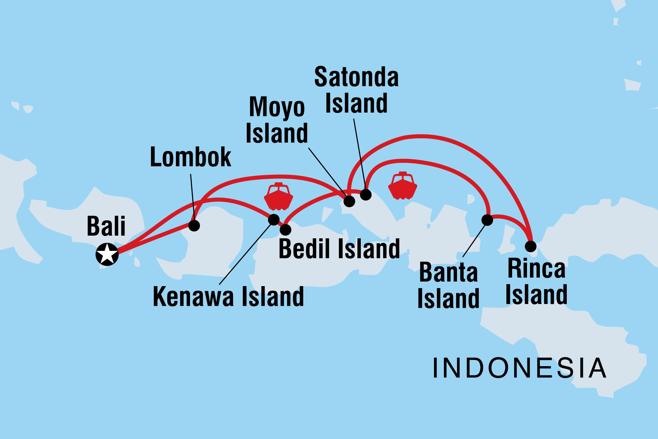 Indonesian Island Cruise   Intrepid Travel