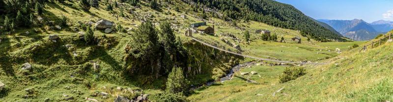 Cortals Valley in Andorra