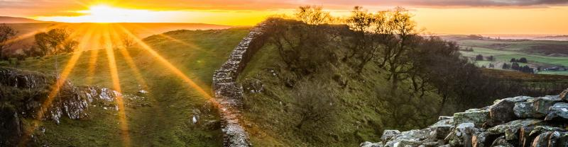 BMLH - England - Hadrians Wall Sunset