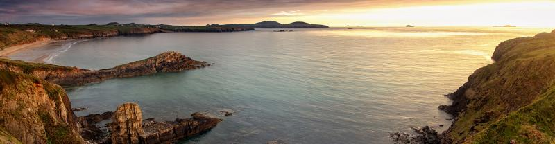 BWXP - St Davids Head at Sunset Banner - 1920x500