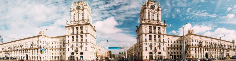 Architecture in Minsk, Belarus