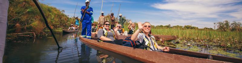 Journey through Botswana, including the Okavango Delta with Geckos