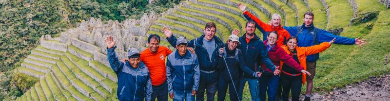 Inca Trail Express with Intrepid Travel, Peru, Soputh America