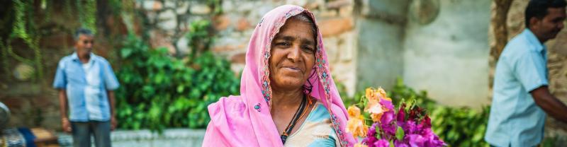 India, Jaipur, Woman