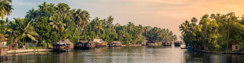 Kerala backwaters houseboats