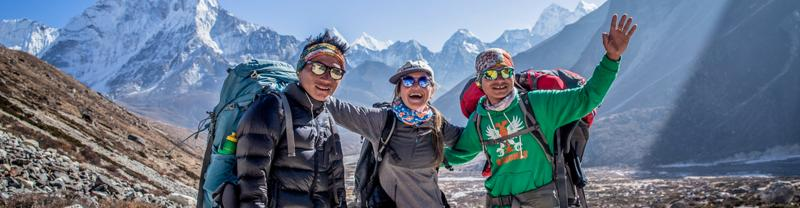 Make the climb to Everest Base Camp in Nepal with Intrepid
