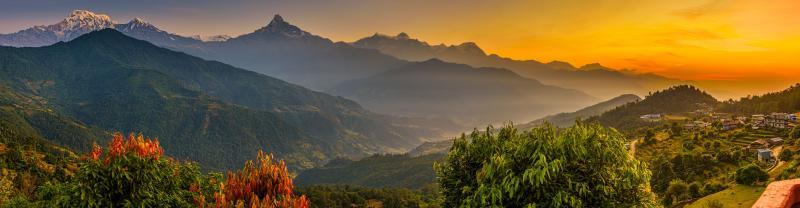 Nepal Pokhara Landscape