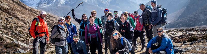 Real Everest base camp - 18 to 29s small group adventure with Intrepid Travel