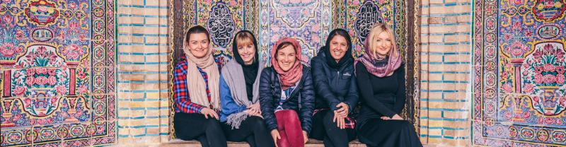 Explore Iran with an all women group