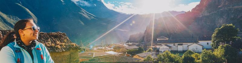 Peru, Ollantaytambo