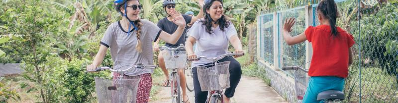 Epic Cambodia to Vietnam Mekong Delta cycling Intrepid Travel