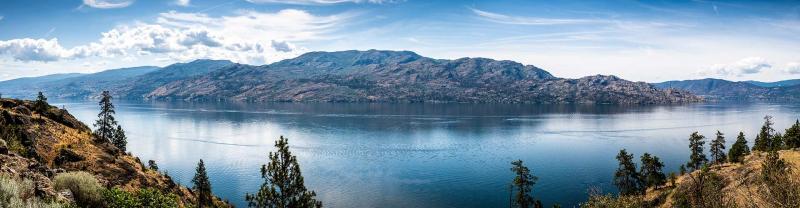 View of Okanagan Lake in Kelowna