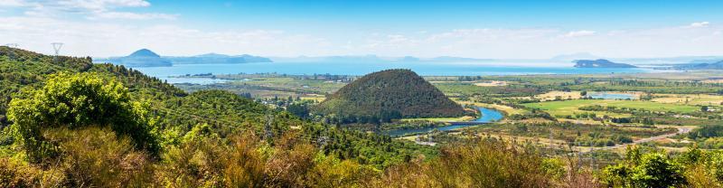 View of Lake Taupo