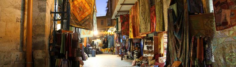 Old town in Jerusalem