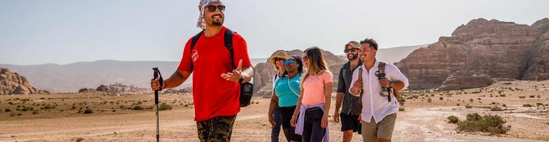 Trek Jordan with Intrepid Travel