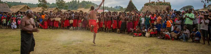 Witness the Firedance Festival in Papua New Guinea