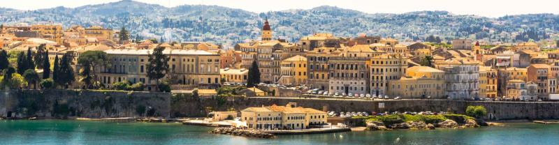 Visit the island of Corfu in Greece