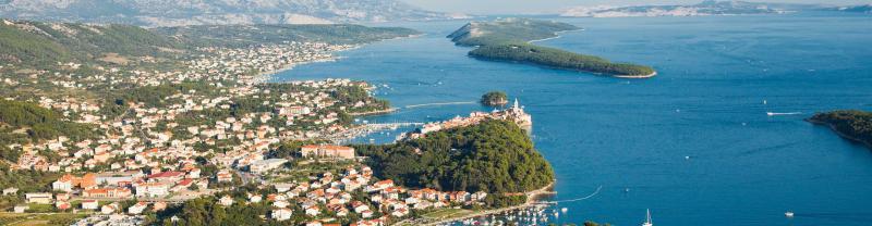 Cruise along the Dalmatia coast in Croatia, including a visit to Rab Island