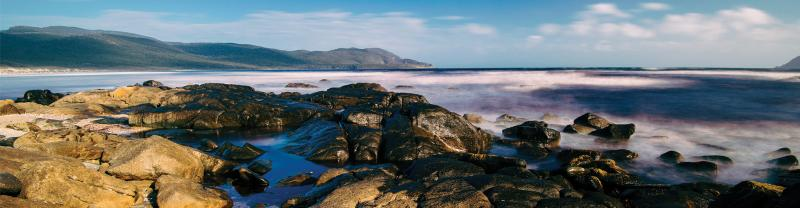 PIXB - Cloudy Bay - Bruny Island - Banner