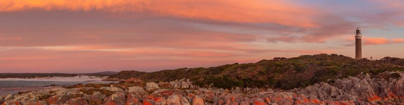 PIXB - Eddystone Point Lighthouse at Sunset Banner 1920x500