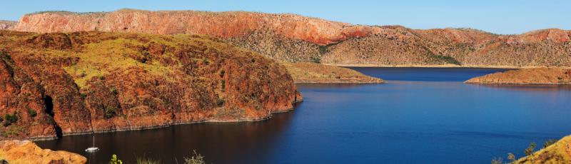 Lake Argyle view
