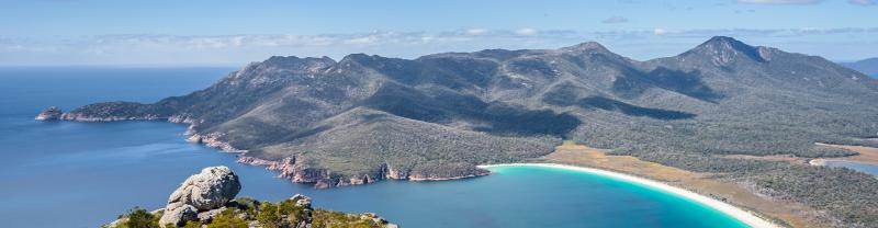 PZXT - Aerial View of Wineglass Bay