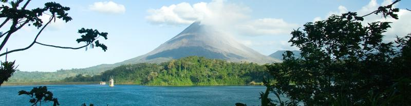 QBPR - View of the Arenal Volcano, Costa Rica