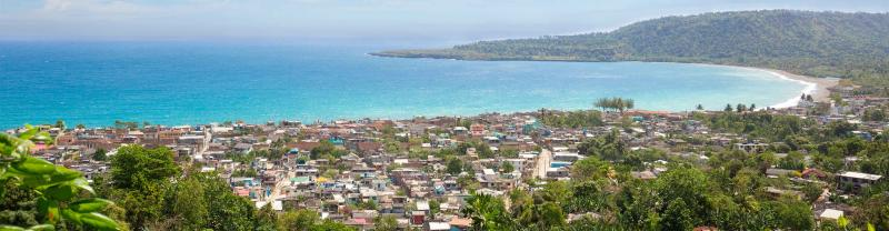 Harbour view of Baracoa town