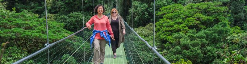 A Costa Rica Experience in the cloud forests of Monteverde