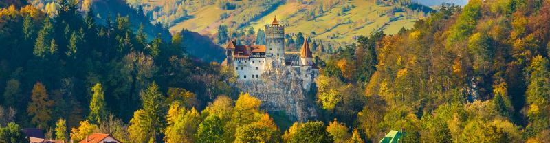 The wonders of Eastern Europe including the spectacular Translyvania in Romania