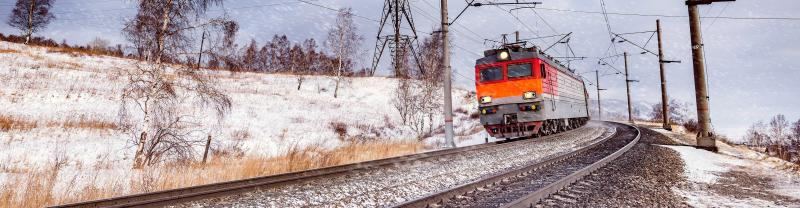 Experience winter on the Trans-Siberian Railway