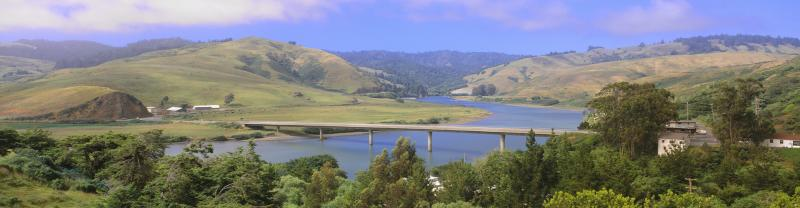 SSKJ - View of Russian River from Highway 1