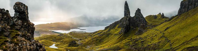 The Isle of Skye in the Scottish Highlands