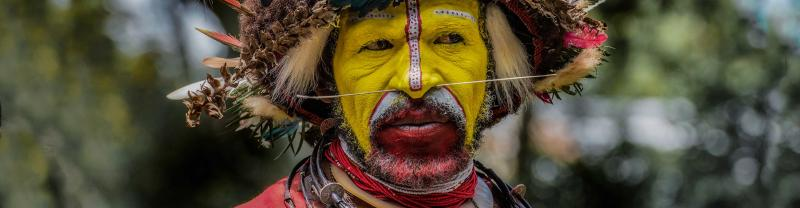 Papua New Guinea National Mask Festival with Intrepid