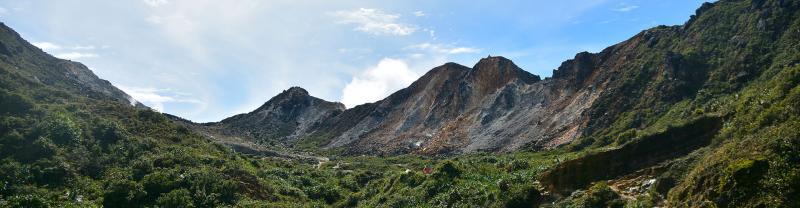 Trekking Mt Sibayak