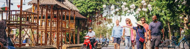 TKPJC - Leader led group tour of the streets of Hoi An
