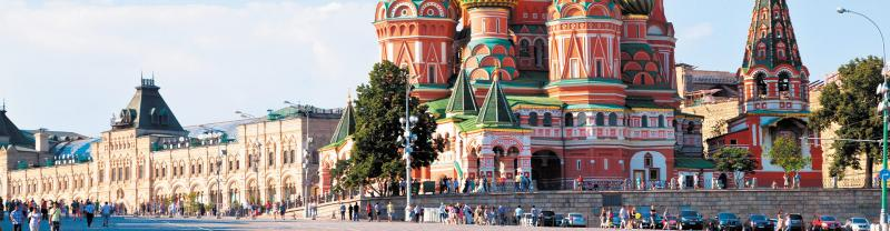 WMPR - St Basil's Cathedral in Moscow, Russia
