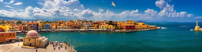 ZLSA - Crete - Chania Old Town - Panoramic View - Banner - 1920x500