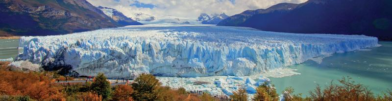 Perito Moreno Glacier mountain view, Patagonia