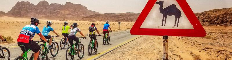 Cycle through Jordan with Intrepid travel