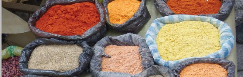 Spice market, Ecuador